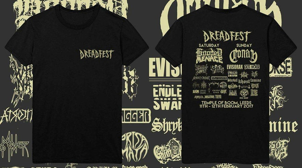 Image of  Official Dreadfest 2017 T-shirt