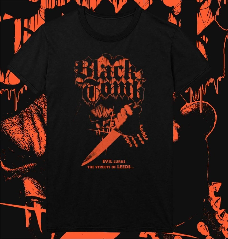 Image of  Official 2017 Dreadfest exclusive Black Tomb T-shirt