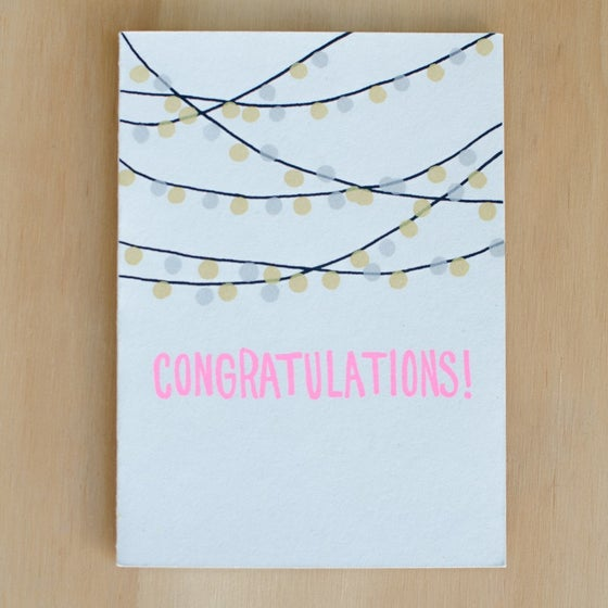 Image of Congratulations String Lights