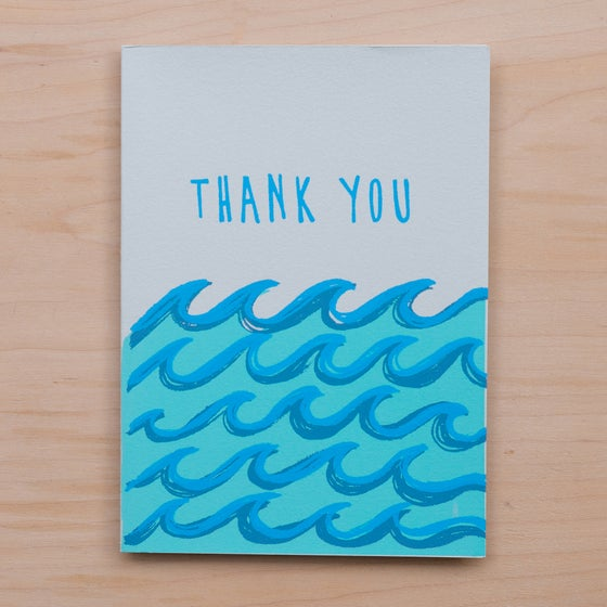 Image of Thank You Waves