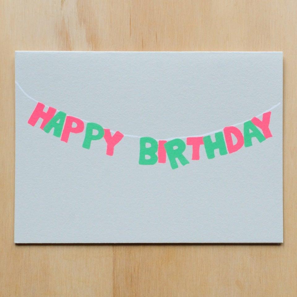 Image of Birthday Banner