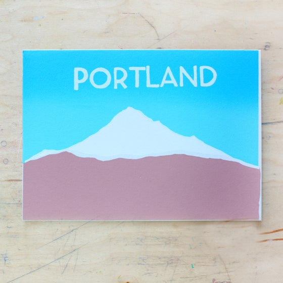 Image of Blue Portland
