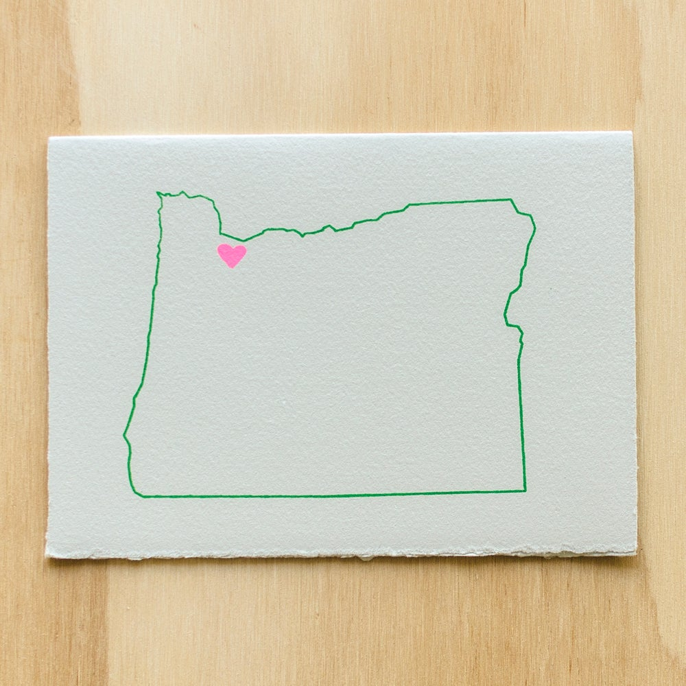 Image of Oregon Map