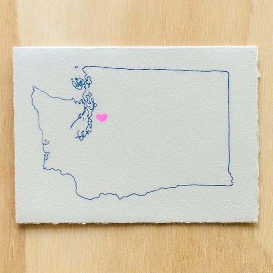 Image of Washington Map