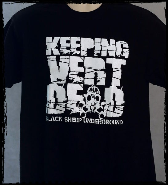 Image of BSU/Keeping Vert Dead collab shirt