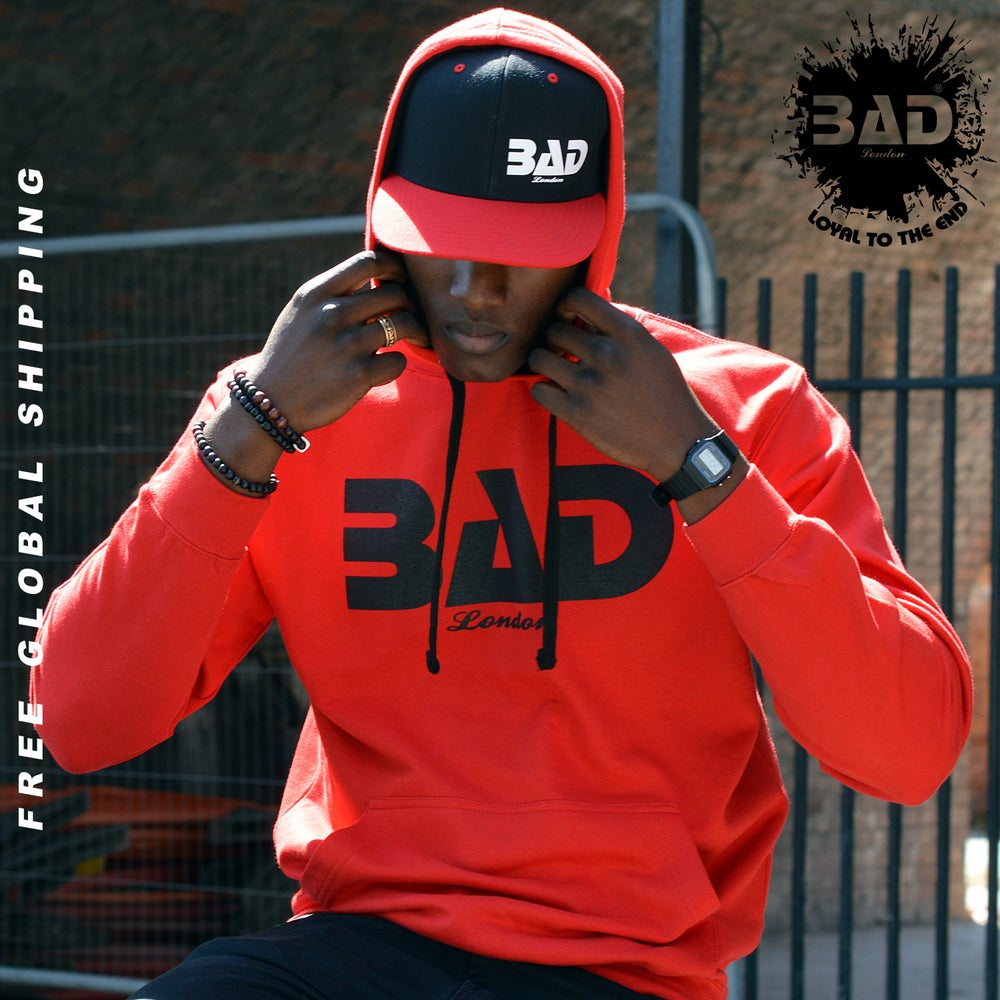 Image of Premium Hoodie by BAD Clothing London Designer Urban Street Wear and Fitness Fashion