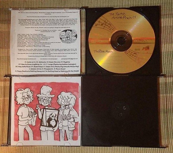 """Image of """"The Pink Room"""" LP Jewel Case Physical"""
