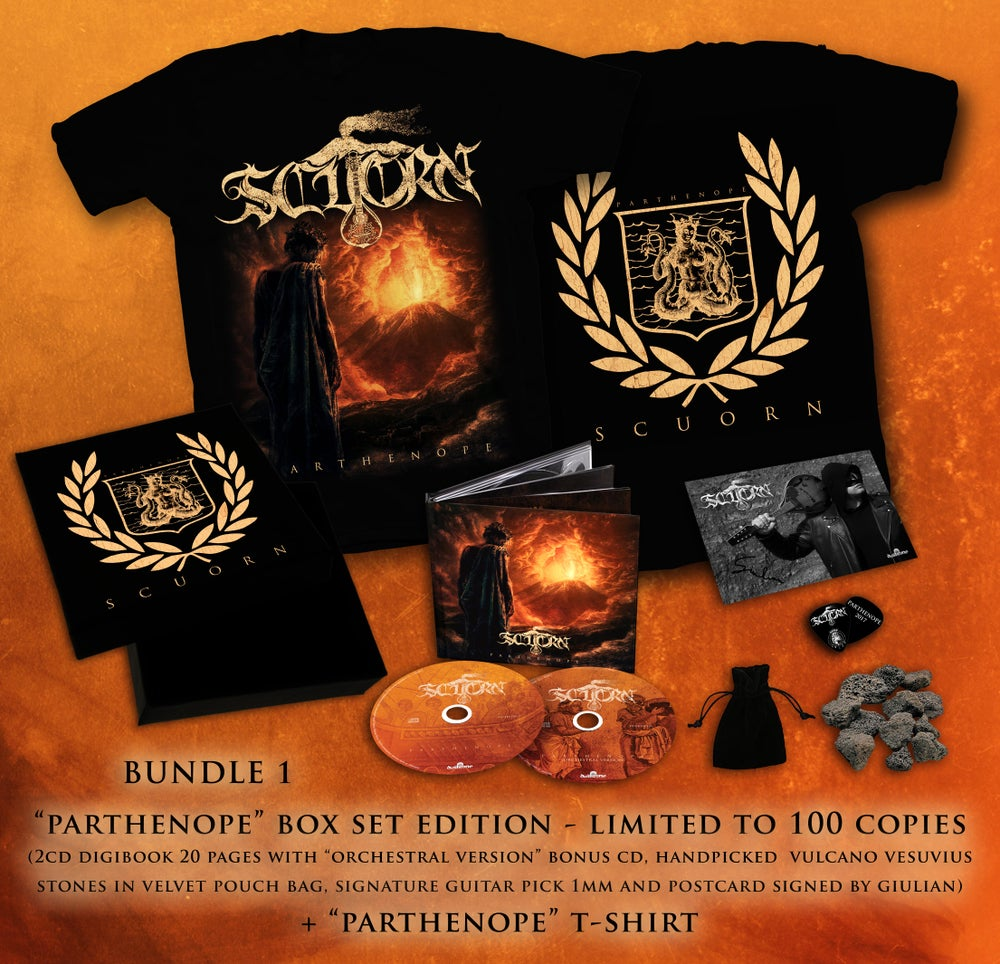 Image of PARTHENOPE BUNDLE 1 : BOX SET LIMITED EDITION + T-SHIRT