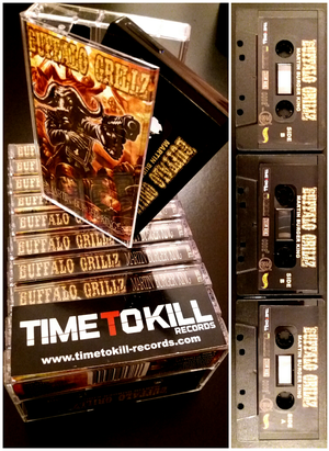 "Image of READY TO SHIP!!!BUFFALO GRILLZ ""MARTIN BURGER KING"" TAPE EXCLUSIVELY LIMITED EDITION"