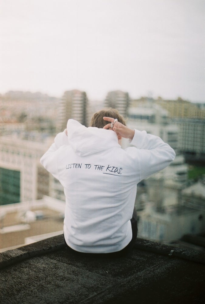 """Image of """"Listen To The Kids"""" Hoodie 2.0"""