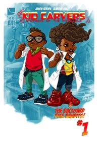Image of Kid Carvers & The Backyard Bike Bandits #1