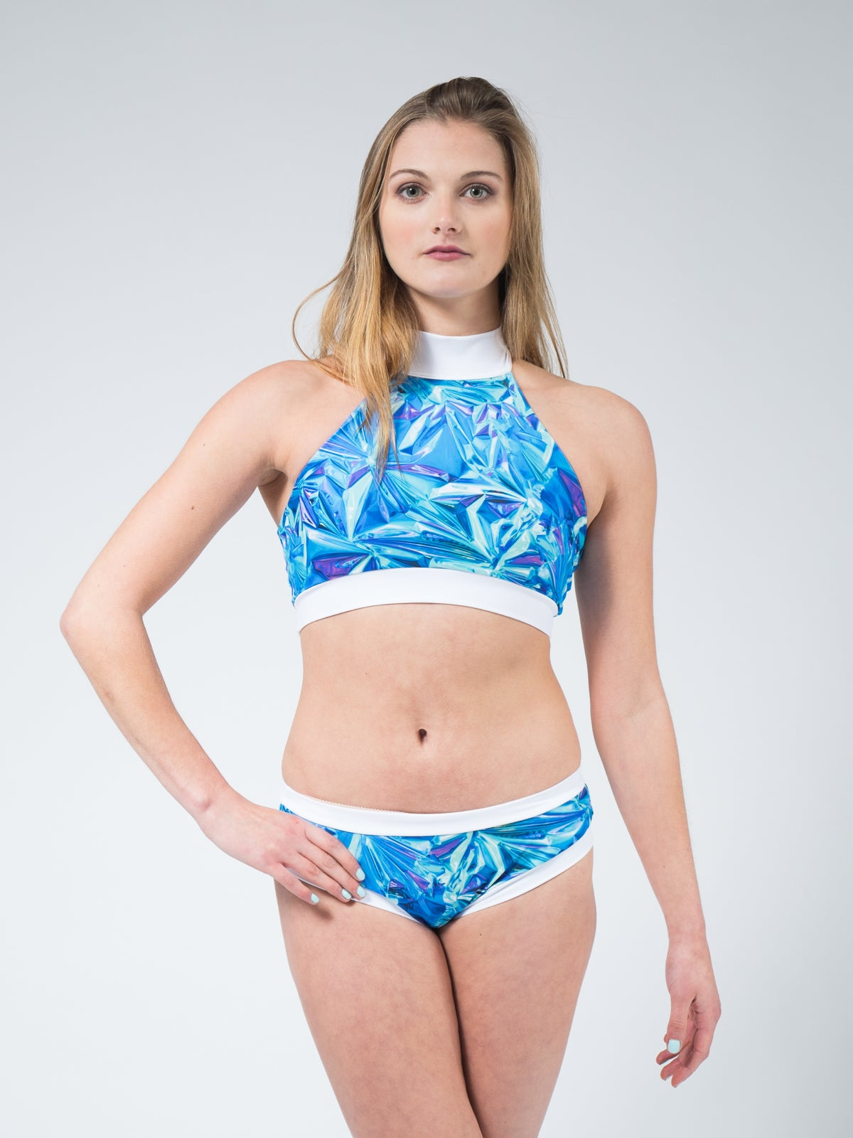 Image of Holographic Jade Shorts