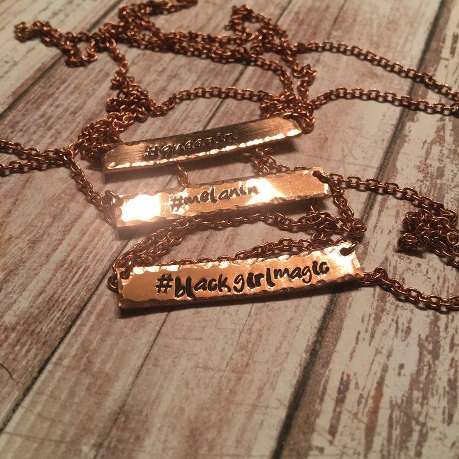 Image of Hashtag Necklace