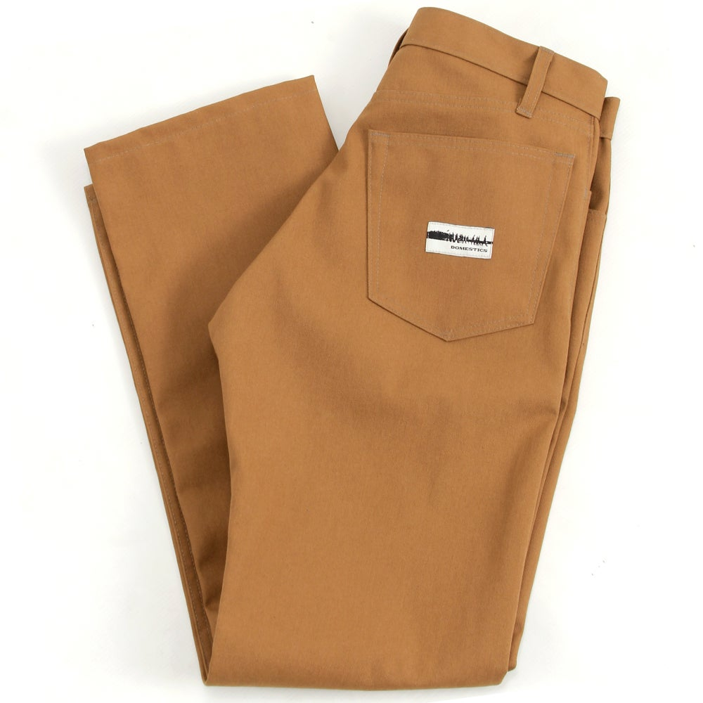Image of MADE IN USA DOMEstics. Heavy Duck Canvas Pants