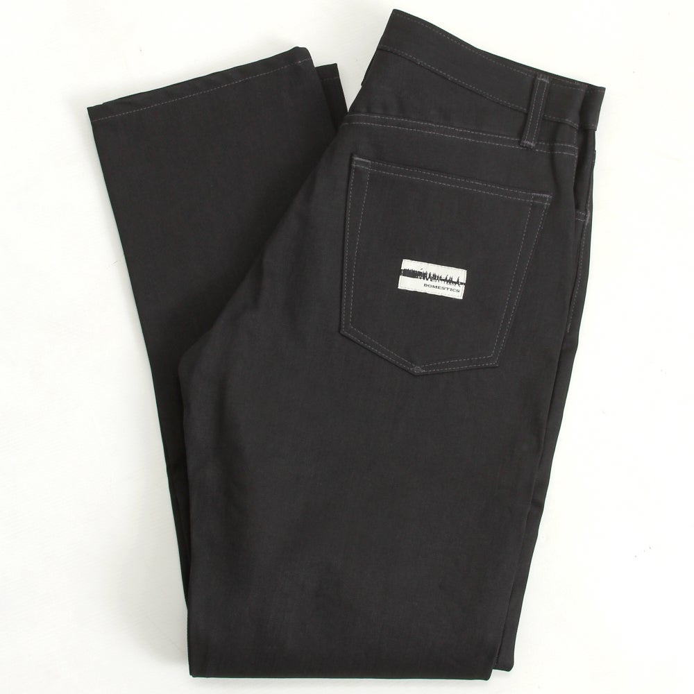 Image of MADE IN USA DOMEstics. Black Denim Jeans