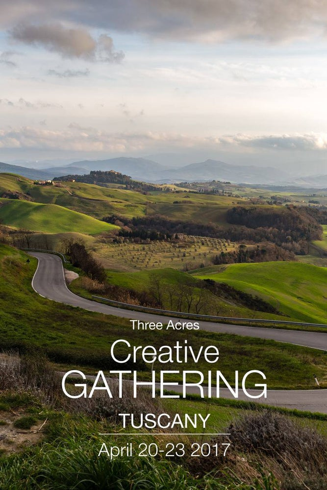 Image of Creative Gathering in Tuscany Spring Edition 2017
