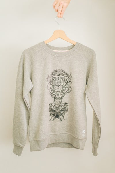 Image of Female Premium Sweatshirt Three Kingdoms