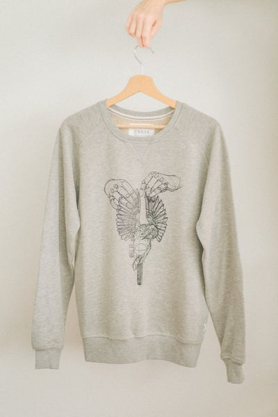 Image of Male Premium Sweatshirt Dead Bird