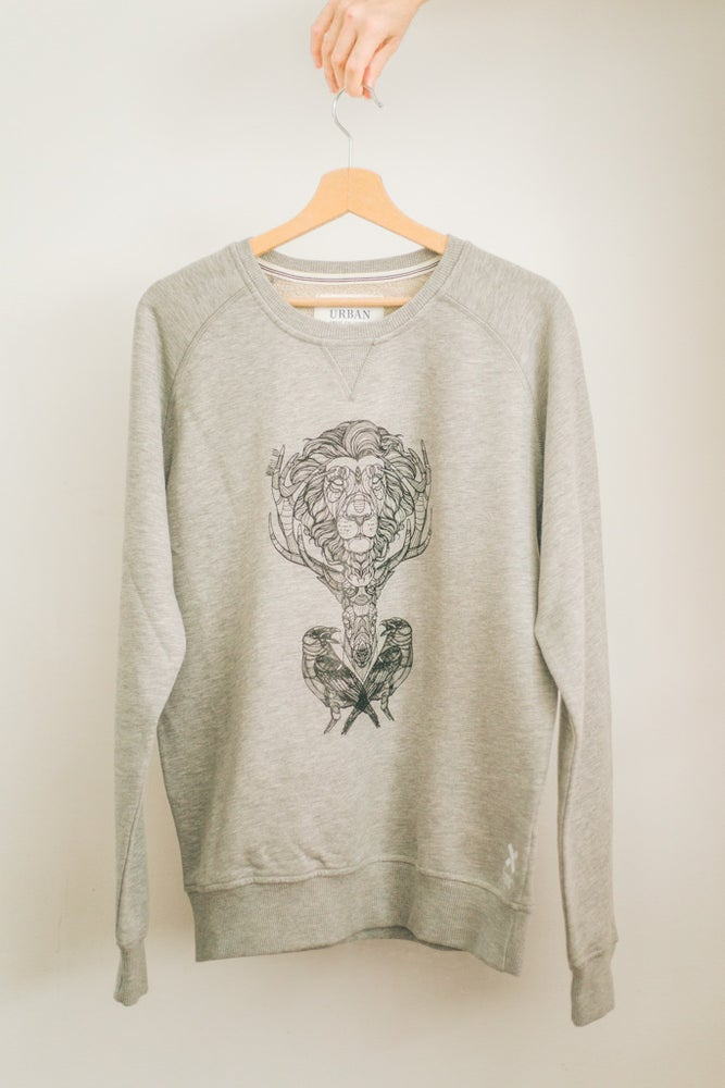 Image of Male Premium Sweatshirt Three Kingdoms