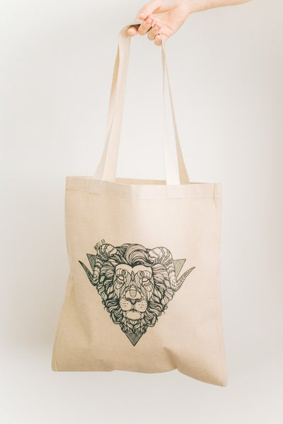 Image of Tote Bag Lion