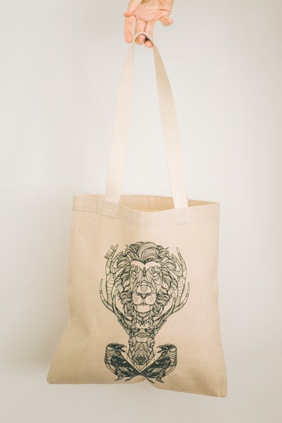 Image of Tote Bag Three Kingdoms