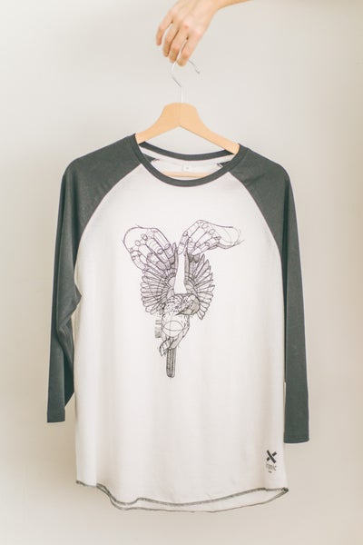 Image of Baseball T-Shirt Dead Bird