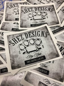 Image of Custom Sticker/Decals/Banner orders