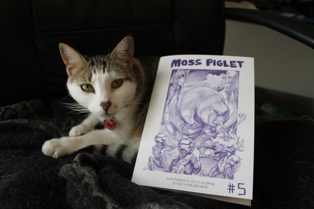 Image of Moss Piglet Journal #5