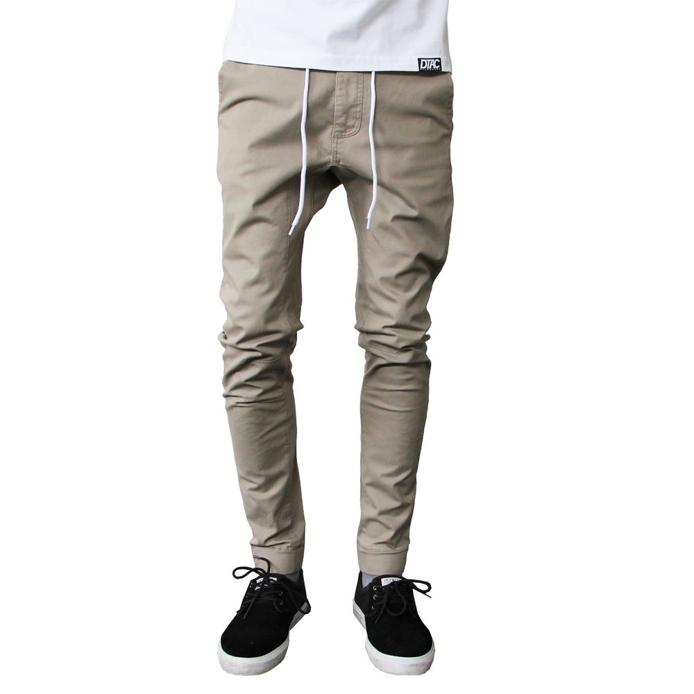 Image of Beige Canvas Pants