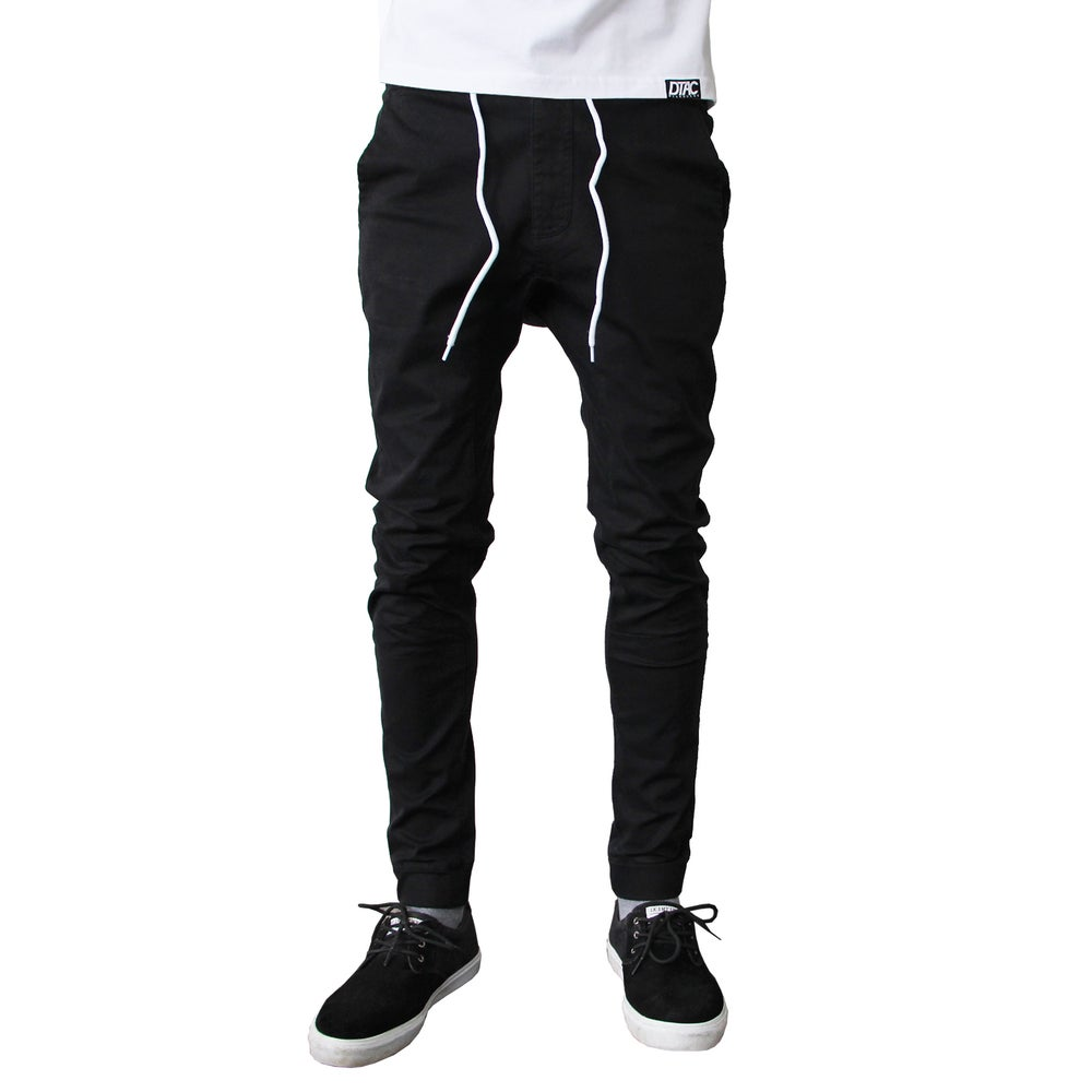 Image of Black Canvas Pants
