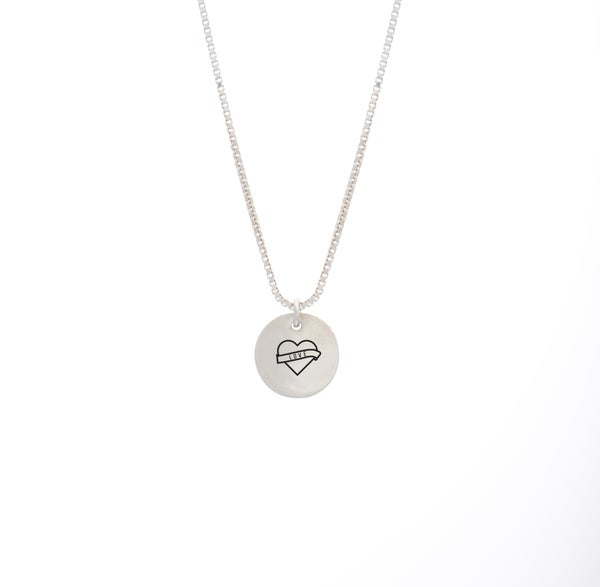 Image of Valentines Rebel Small Necklace