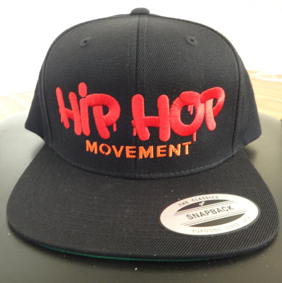 Image of Hip Hop Movement Black Blend Snapback