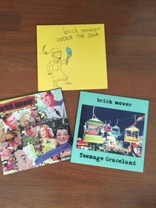 Image of Brick Mower- 3 LP bundle
