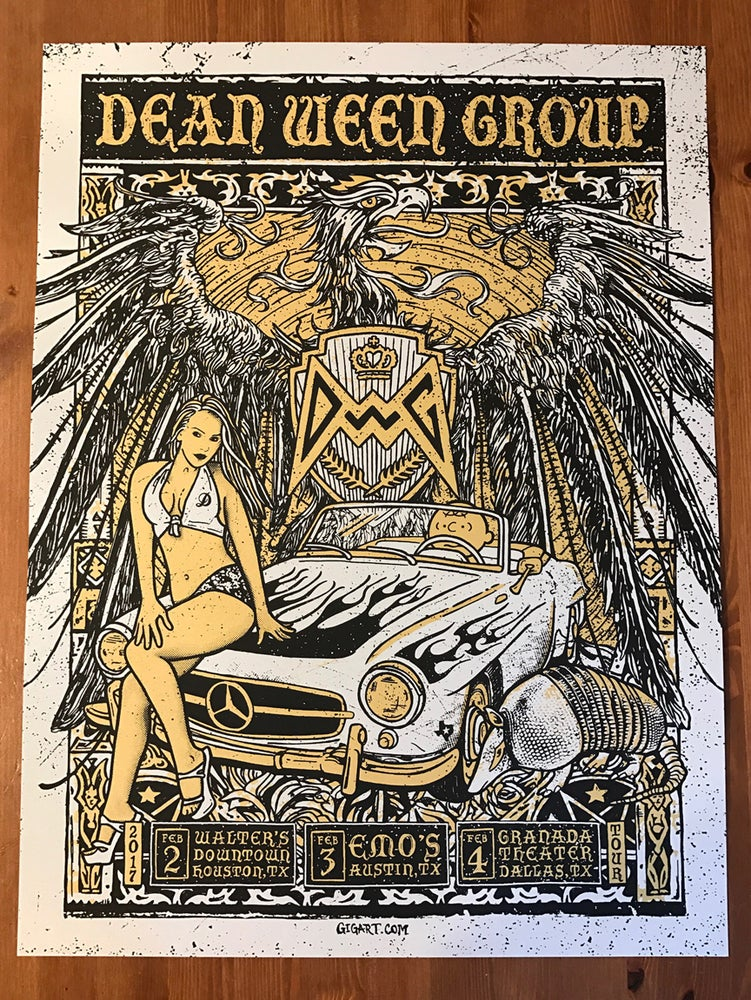 Image of Dean Ween Group - Silver Pearlescent Variant