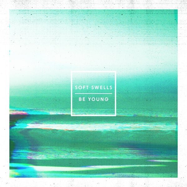 "Image of Soft Swells ""Be Young"" 12"" Vinyl (Marble Blue)"