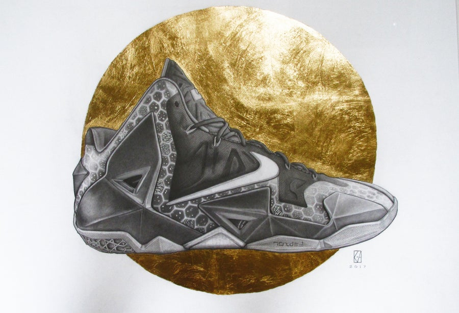 Image of NIKE - Lebron XI - A1 (Framed)