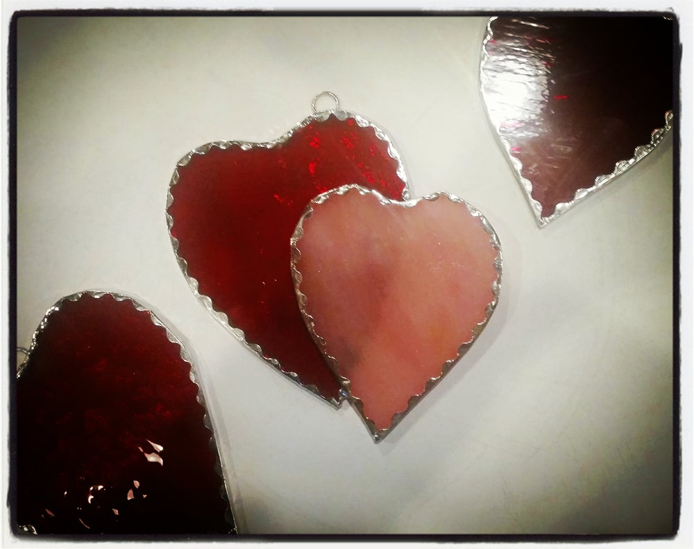 Image of Little Sweethearts-stained glass