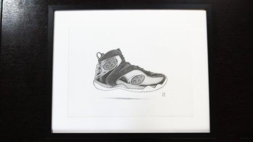 Image of NIKE - Penny - A3 Original (Framed)/Print