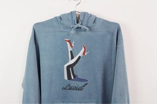 Image of 020-lucid pinup hoodie
