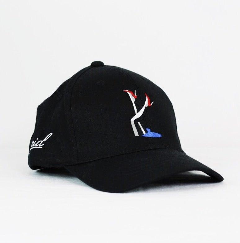 Image of LUCID PINUP CAP - BLACK