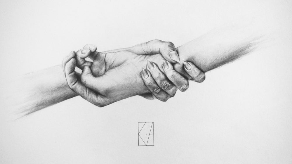 Image of Grip - A3 Print