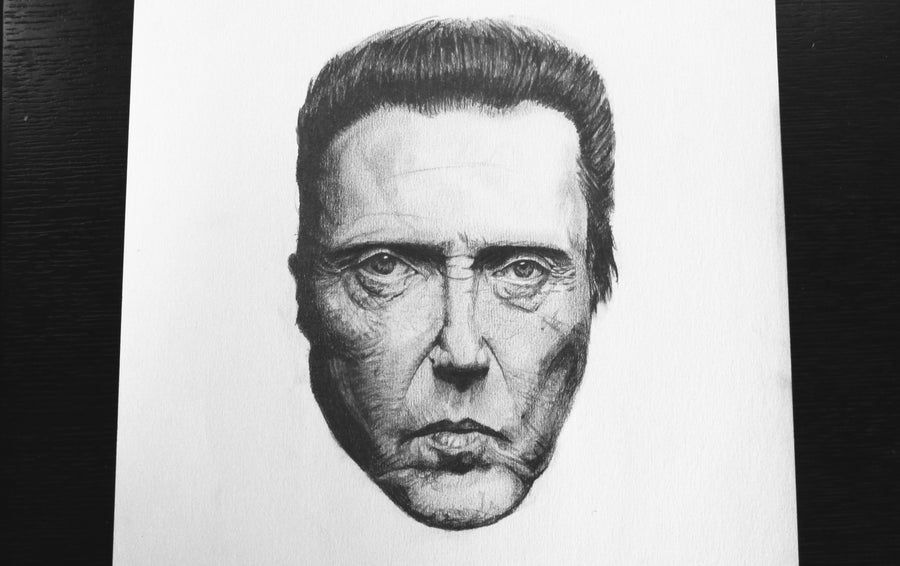 Image of Mr Walken - A3 Print