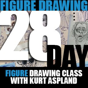 Image of 28 Day Figure Drawing Class<br>18 and Older