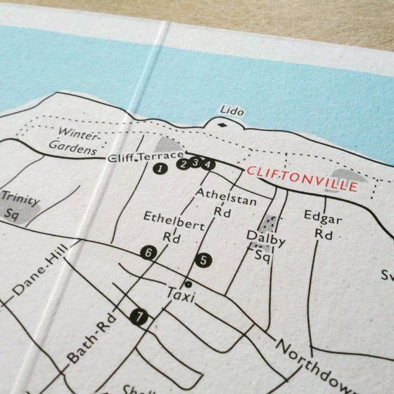 Image of Wedding or Travel Map, Custom Map Design + Print