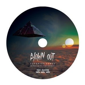 Image of BLOWN OUT 'Superior Venus' Promo CDR
