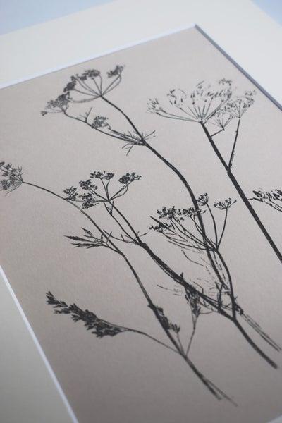 Image of Original monoprint: Meadow Mix