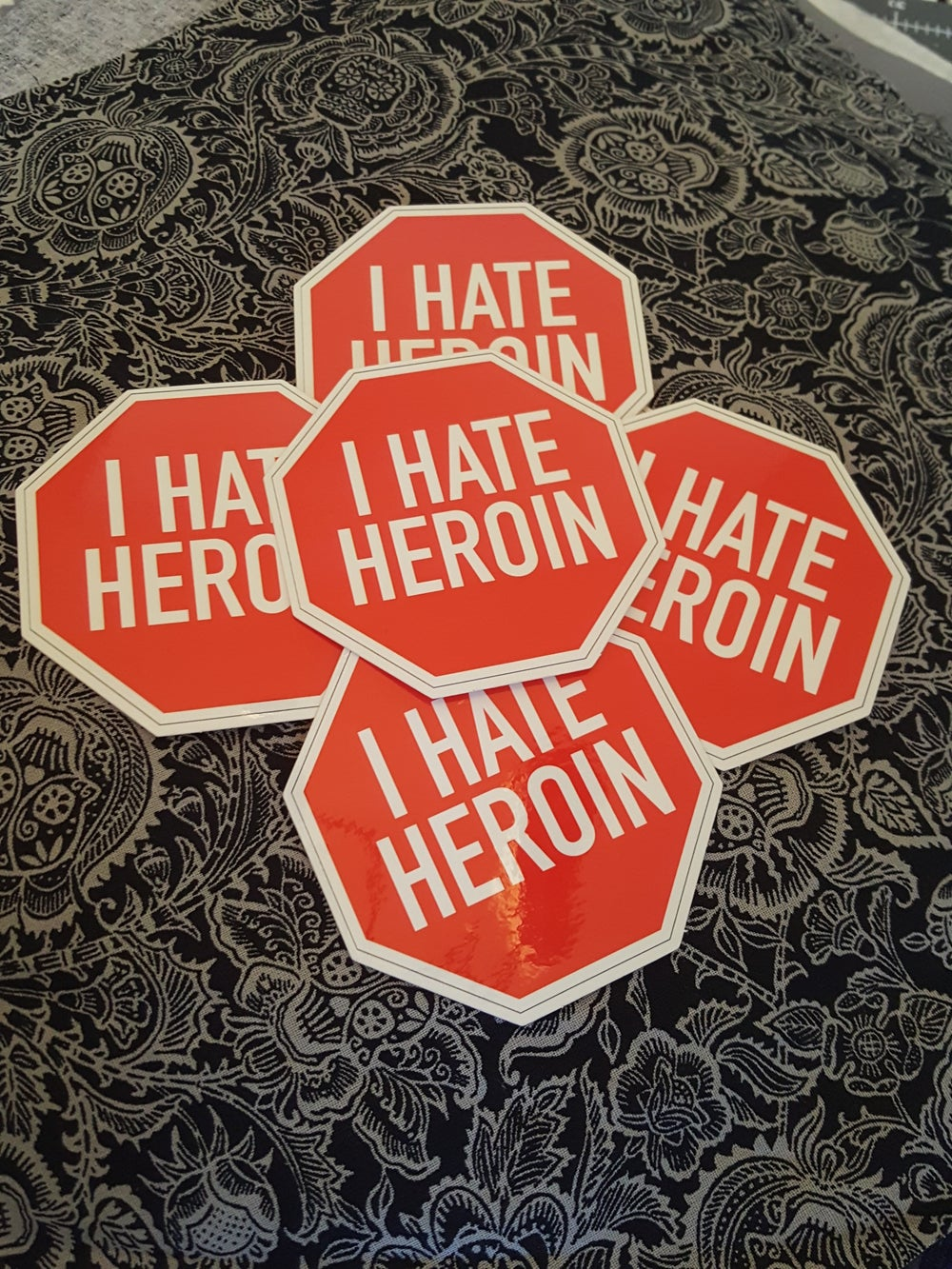 Image of I Hate Heroin Sticker