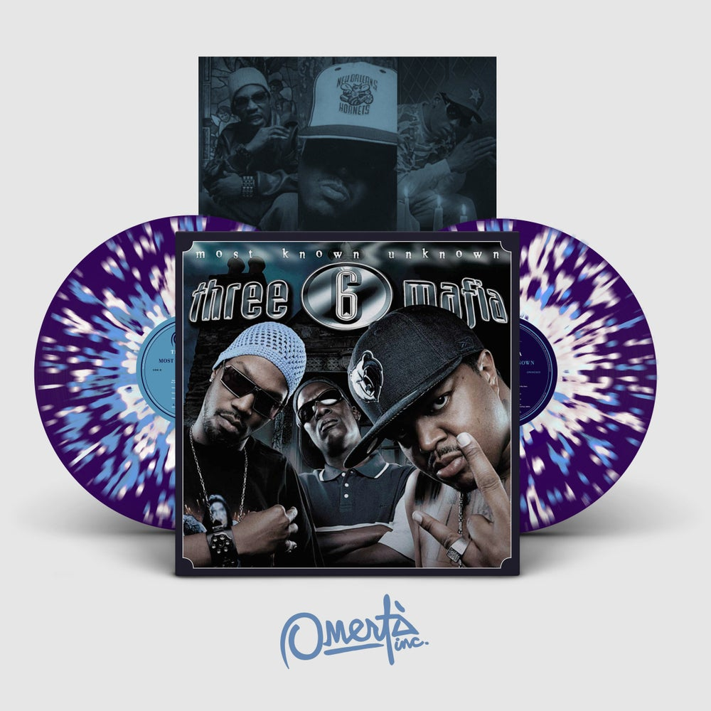 Image of Three 6 Mafia - Most Known Unknown [2xLP] OMINC003
