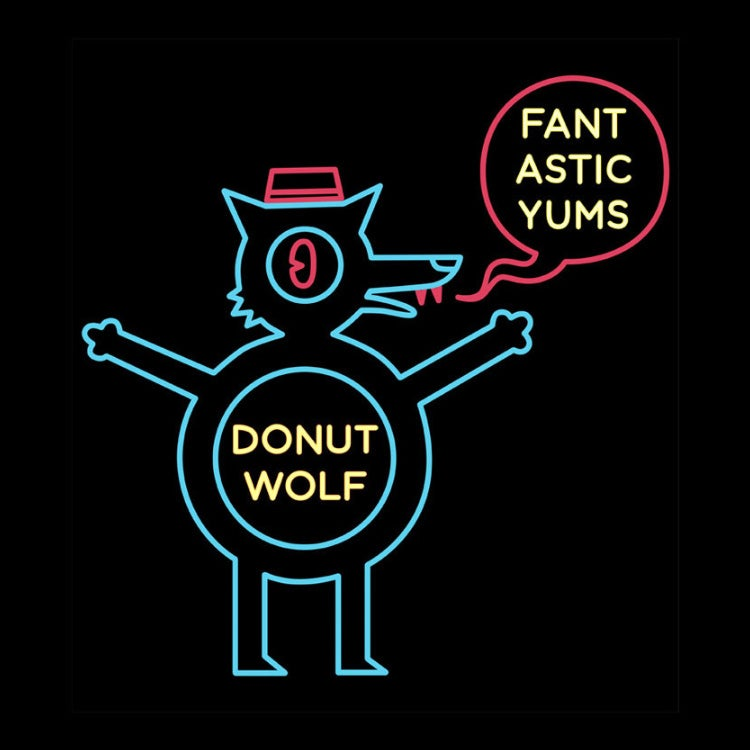 Image of NITW Donut Wolf Tshirt