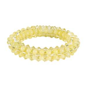 Image of Lemon Jade Rope Bracelet